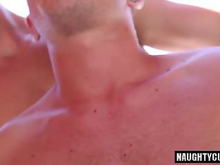 Big cock gay oral sex and massage