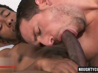 Big dic gay anal sex with cumshot