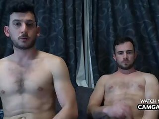 Guys fucking and sucking their dick in live