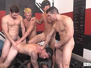 Train Me Part 4 - Shawn Reeve, Jeremy Spreadums, John Delta, Evan Marco & Griffin Barrows