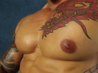 Kell Dragon muscle pecs BRZ Studio