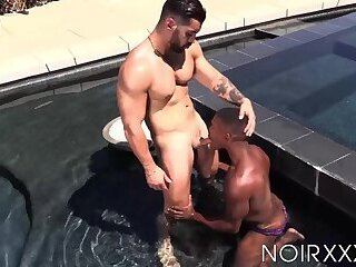 BBC stud Adrian Hart rimmed and pounded raw after deepthroat