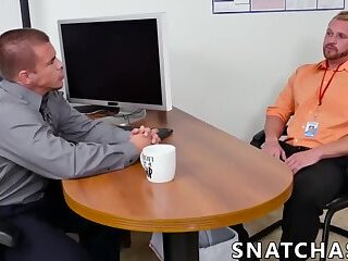 Office manager anal fucks new employee during an interview