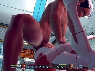 3D Hunk fucks another 3D Stud. 3d Gay Cartoon , 3d Jock