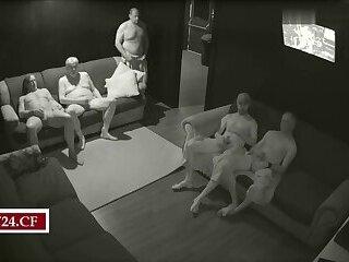 Spycam in Real Gay Sauna