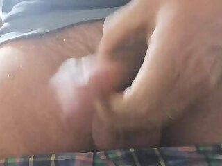 Get on your knees and take my cum