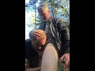 Horny Bear Fuck Outside