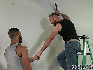 Big muscle hunk fucking and sucking