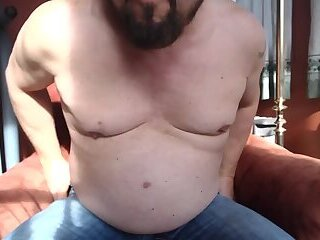 Watch me strip and jerk off and taste my sperm.